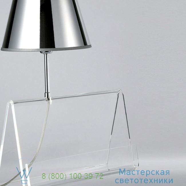 фотография L'Empirique DesignHeure transparent, H42cm настольная лампа Lpea 4