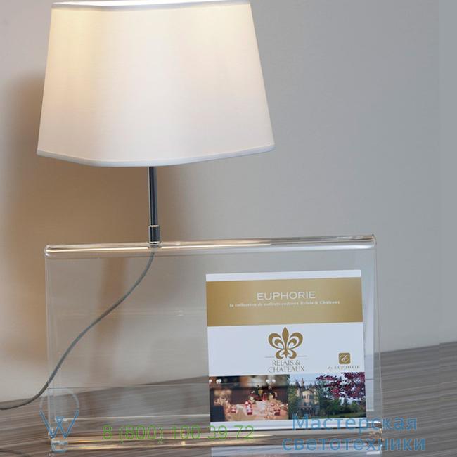 фотография L'Empirique DesignHeure transparent, H42cm настольная лампа Lpeb 0