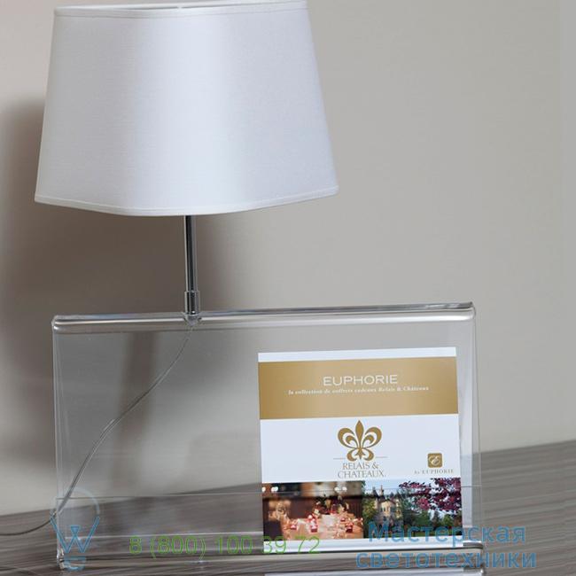 фотография L'Empirique DesignHeure transparent, H42cm настольная лампа Lpeb 1