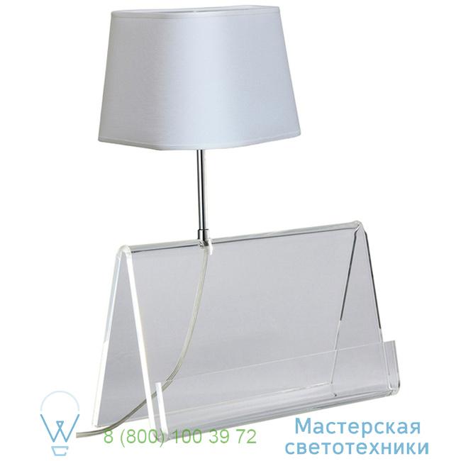 фотография L'Empirique DesignHeure transparent, H42cm настольная лампа Lpeb 2