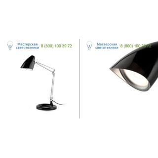 51913 Ariel, BLACK READING LAMP 1 x E14 11W, 1 x E14 11W, офисный светильник, Faro Barcelona, Испания