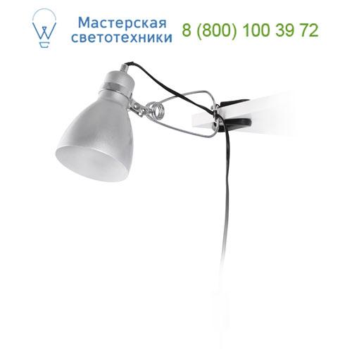 51151 TER, PINZA GRIS 1 x E14 15W, 1 x E14 15W, офисный светильник, Faro Barcelona, Испания