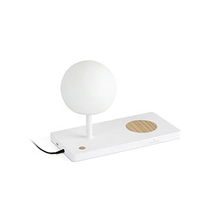 01007 Faro NIKO LED Белая настольная лампа