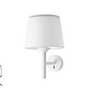 20310 Faro SAVOY Настенный светильник белого абажура