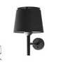20311 Faro SAVOY Настенный светильник черного абажура