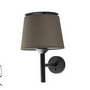 20312 Faro SAVOY Настенный светильник темно-зеленого абажура