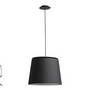 20320 Faro SAVOY Подвесной светильник черного абажура