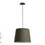 20321 Faro SAVOY Подвесной светильник темно-зеленого абажура