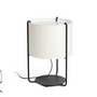 2P0522 Faro DRUM Бежевый настольный светильник