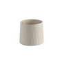 2P0625 Faro Бежевый ленточный текстильный абажур o250 ? 200