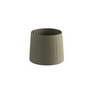 2P0627 Faro Оливковая зеленая лента, текстильный абажур o250 ? 200