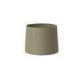 2P0637 Faro Оливковая зеленая лента, текстильный абажур o400 ? 300