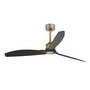 33417 Faro JUST FAN Старый золотой потолочный вентилятор