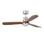33518 Faro LANTAU LED матовый никелевый потолочный вентилятор