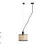 64314 Faro MAMBO Черный подвесной светильник с натяжителем