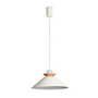 64501 Faro NAOS Бежевый подвесной светильник O400