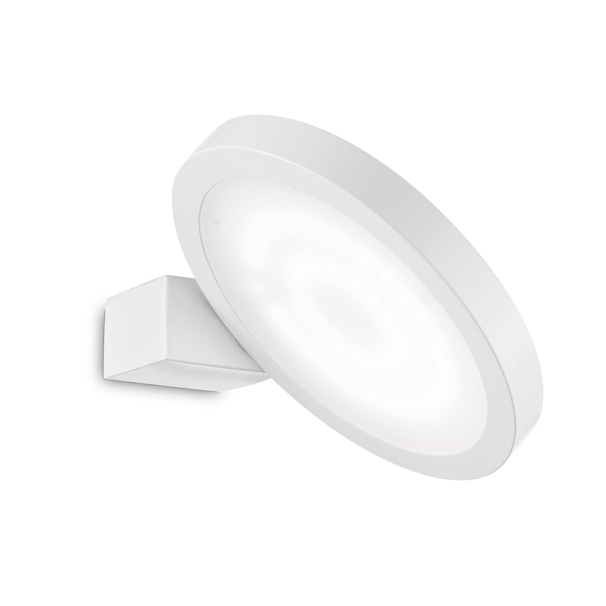 FLAP AP1 ROUND BIANCO накладной светильник белый