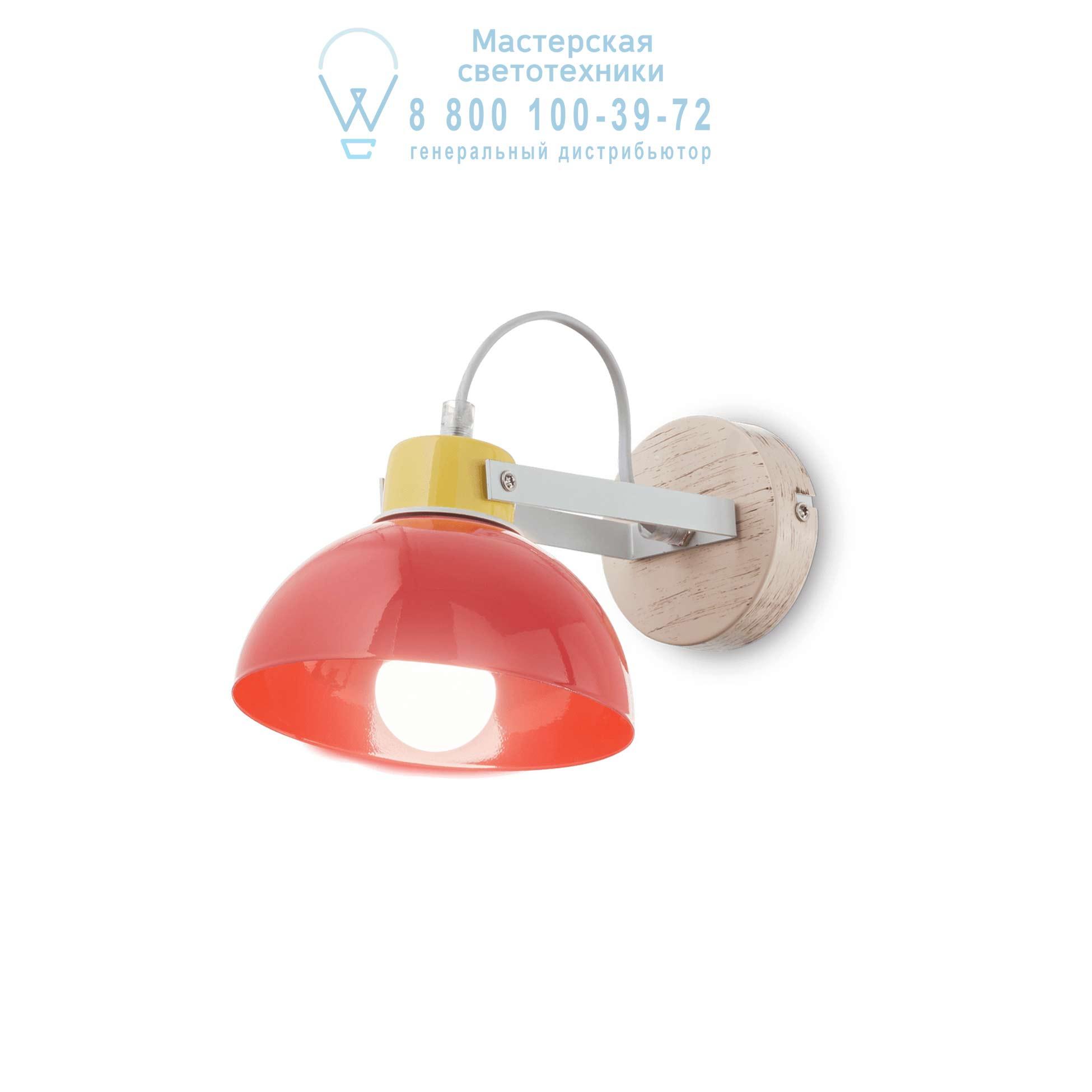 TITTI AP1 ROSSO накладной светильник