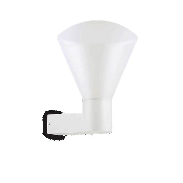 OUVERTURE AP1 BIANCO уличный накладной светильник белый