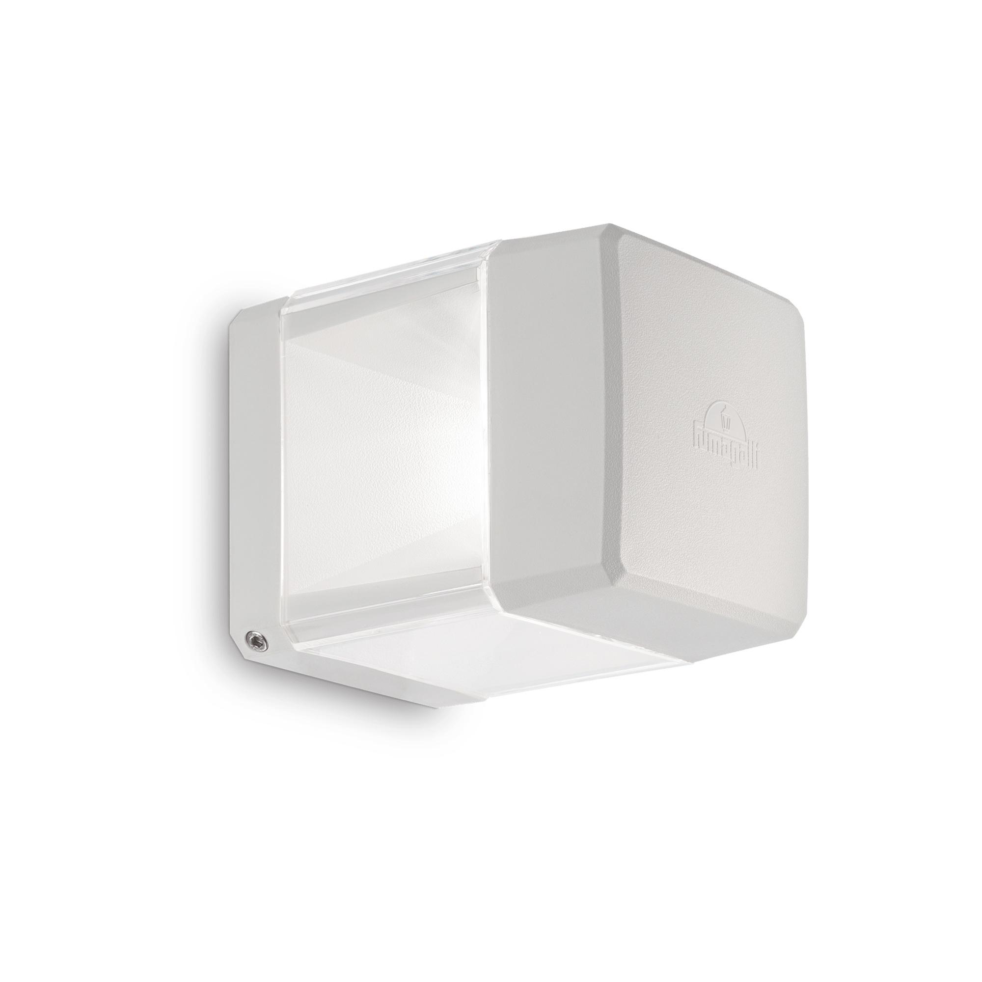 ELISA AP1 BIANCO уличный накладной светильник белый