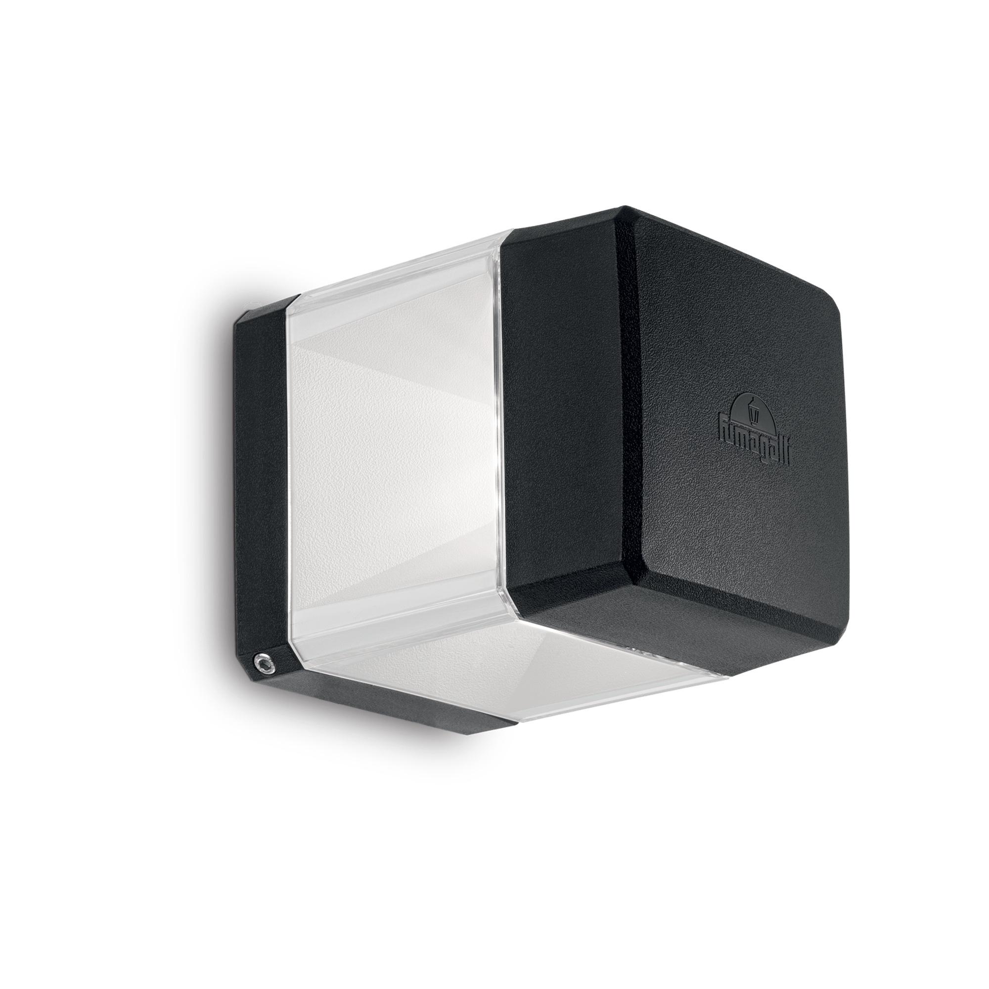 ELISA AP1 NERO уличный накладной светильник черный