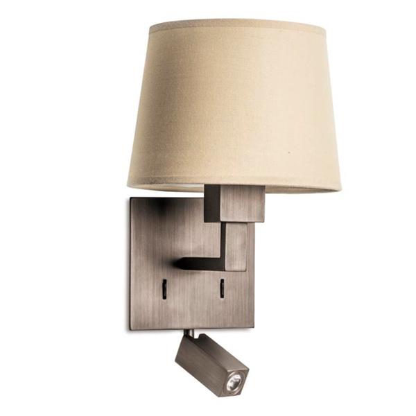 05-3218-19-82 BALI Leds C4 Decorative прикроватный бра с абажуром LED