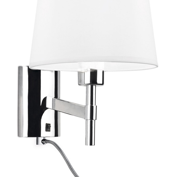 05-2820-21-21 BRISTOL Leds C4 Decorative прикроватный бра с абажуром LED