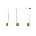 ATTIC Leds C4 Decorative подвесной светильник E27 3 арт. в серии 00-7398-05-DL