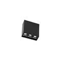 BENTO Surface Leds C4 Technical потолочный светильник (маленький) LED черный 8 арт. в серии 15-7098-60-60