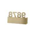 05-7370-DL-DL ROOM Leds C4 Decorative настенный светильник LED золотистый