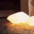 Stone of glass Oluce 45cm настольная лампа 204