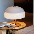 Zanuso Oluce white, 42cm настольная лампа 275-marron