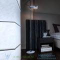 Spider Oluce H140cm напольный светильник 3319-blanc