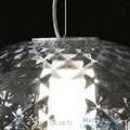 Recuerdo Oluce transparent, LED, 32cm, H22cm подвесной светильник RECUERDO484