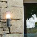 DIX Sammode 2700K, inox, LED, 7cm, H30cm, IP68 настенный светильник DIX1203