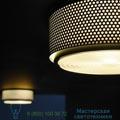G13 Sammode black, 35cm, H15cm потолочный или настенный светильник G13_Black_Large