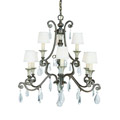 1-3002-9-8 Savoy House St. Laurence 9 Light Chandelier люстра