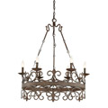 1-8000-6-64 Savoy House Flanders 6 Light Chandelier люстра