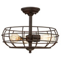 1-8075-3-13 Savoy House Scout 3 Light Semi-Flush потолочный светильник