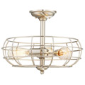 1-8075-3-SN Savoy House Scout 3 Light Semi-Flush потолочный светильник