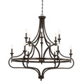 1-9084-12-13 Savoy House Sheilds 12 Light Chandelier люстра