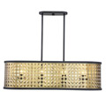 1-9902-8-147 Savoy House Pelham 8 Light Linear Chandelier нодвесной светильник