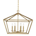 3-325-6-322 Savoy House Townsend 6 Light Warm Brass Lantern нодвесной светильник