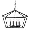 3-325-6-89 Savoy House Townsend 6 Light Black Lantern нодвесной светильник