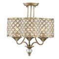 6-2402-3-98 Savoy House Regis 3 Light Semi Flush потолочный светильник