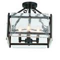 6-3042-4-13 Savoy House Glenwood Semi-Flush потолочный светильник
