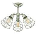 6-4136-3-SN Savoy House Scout 3 Light Adjustable Semi-Flush потолочный светильник