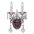 9-34010-2-300 Savoy House Bronze&Crystal 2 Light Wall Lamp настенный светильник