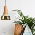 Eikon, ray Schneid oak, gold, H35cm подвесной светильник ray_gold_chne