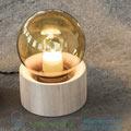 Full moon Serax wood, 14,5cm, H20cm настольная лампа B7218542A